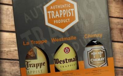 Een Trappist Pack met een mix van Belgische en buitenlandse trappisten